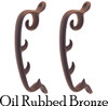 Oil Rubbed Bronze Morris Chair Rack