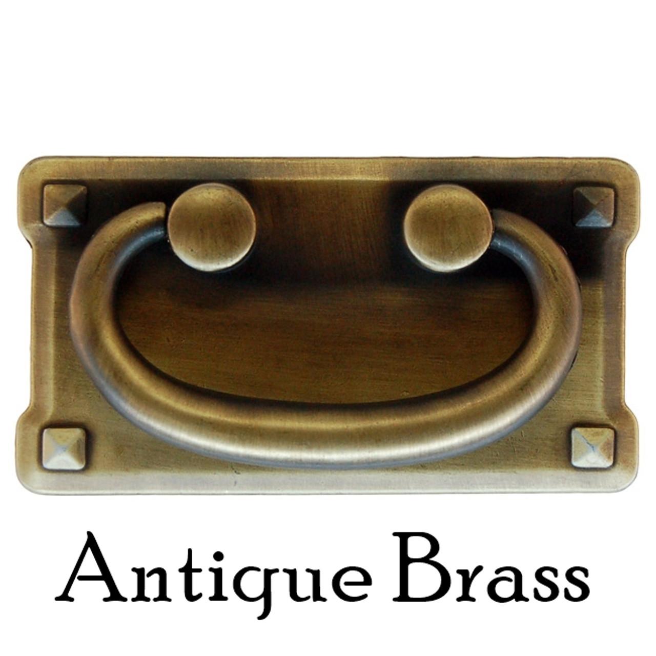 Arts /& Crafts Cabinet Knob Pull Vintage Bronze