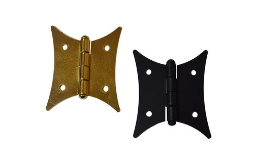 Brass Black butterfly Hinge