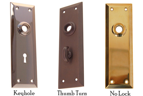 "2 1/4"" x 7""  Door Knob Trim Backplate"