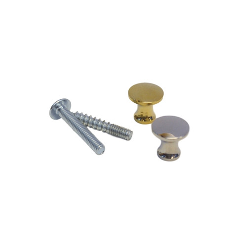 Bookcase Knob Brass or Nickel