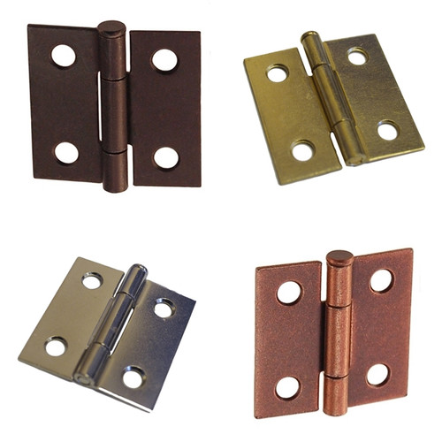 Butt Furniture Hinge w/ Removable Pin