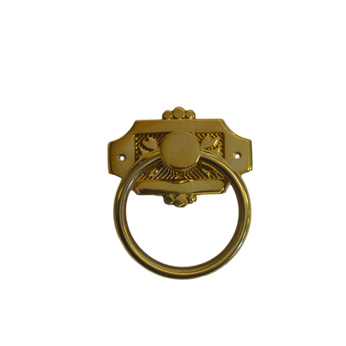 Brass Eastlake Ring Pull