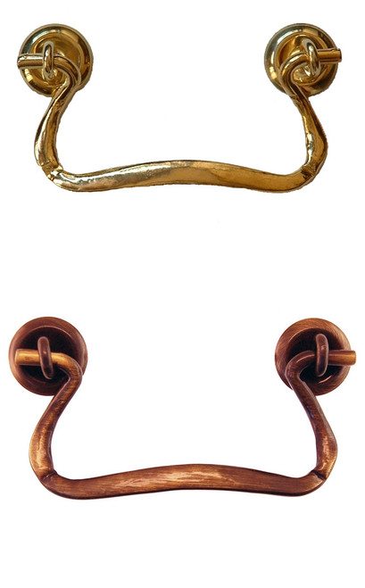 Simple Brass Bail Handle