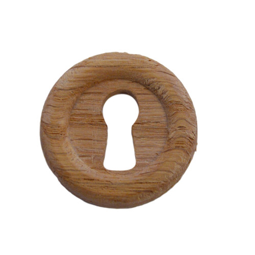 Round Wooden Keyhole Cover