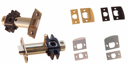 Brass, Oil Rubbed Bronze, Nickel or Brushed Nickel Tubular Latch Set