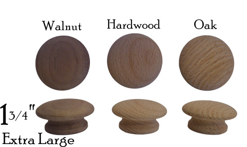 Extra Large Wooden Knob