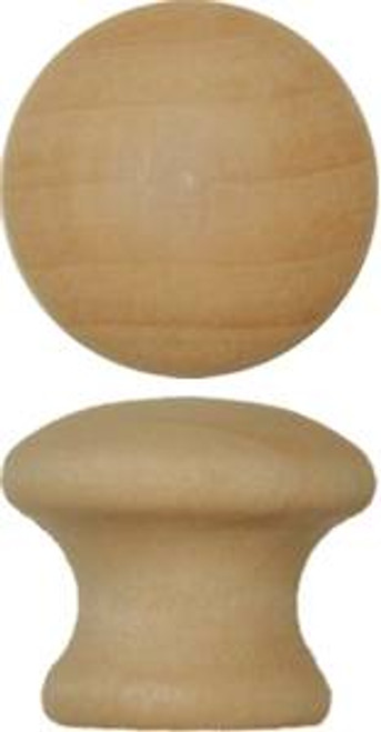 Small Wooden Knob