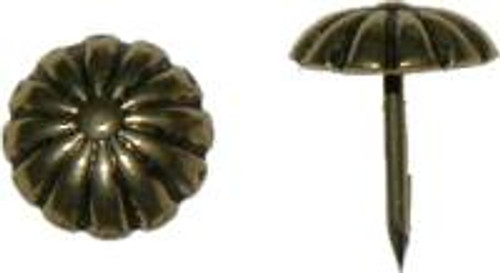 Decorative Upholstery Nail/Tack with a Daisy Design