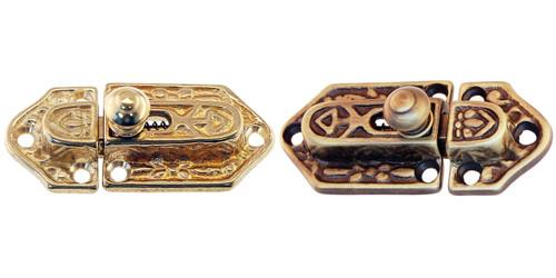 Brass or Antique Brass Victorian Style Latch