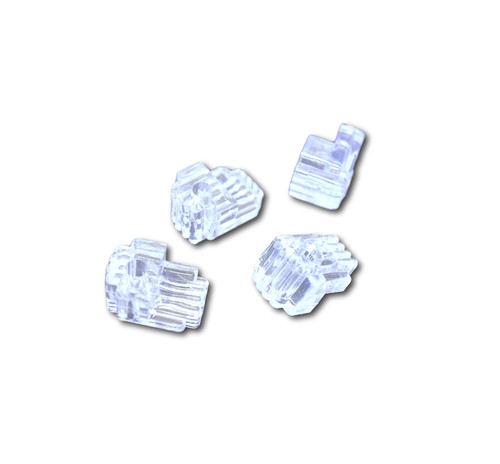 Clear plastic mirror Clips