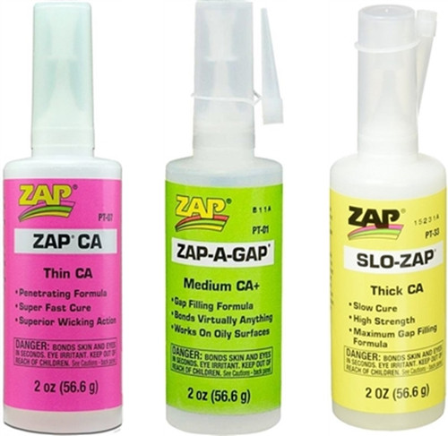 Zap Glues