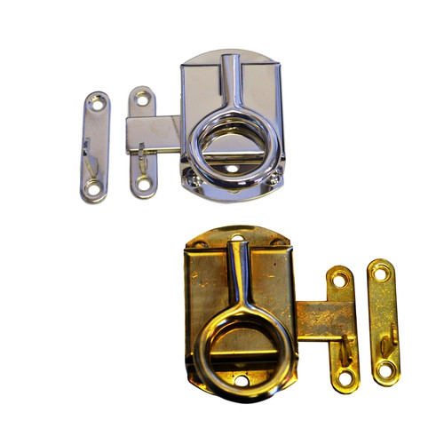 Cabinet Latch w/ Ring Pull
