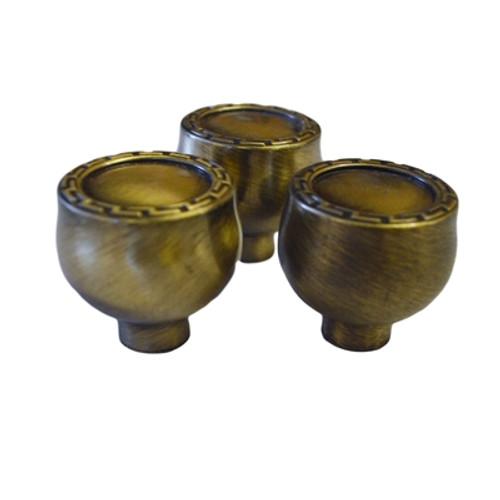 Vintage Brass Cabinet Knob
