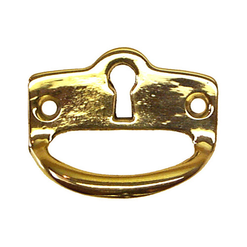 Mission Arts & Crafts Drawer pull with Keyhole