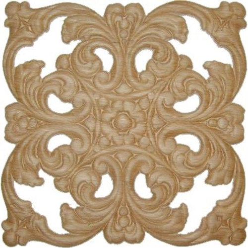 Square Wooden Filigree