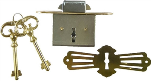 Roll Top Desk Lock - Full Mortise