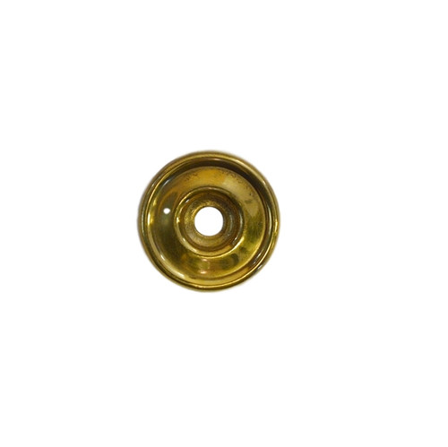 Plain Brass Round Bail Handle Backplate