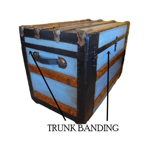 Black Steel Trunk Banding