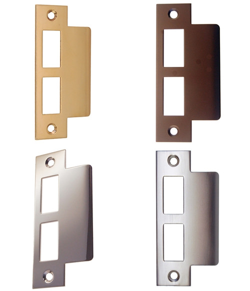 Heavy Duty Exterior Door Strike Plate