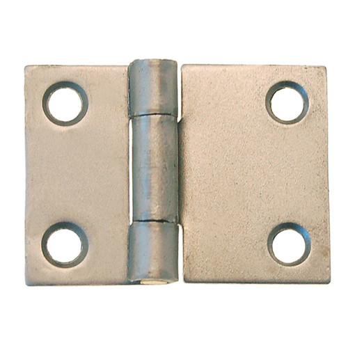 "1"" Polished Steel Butt HInge"