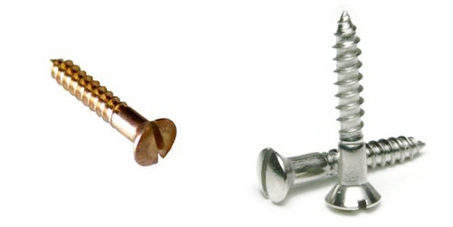 #8 Oval Head Wood Screw