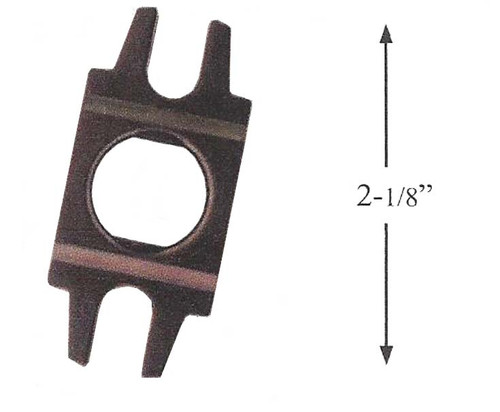 Alignment Block for Door Knobs