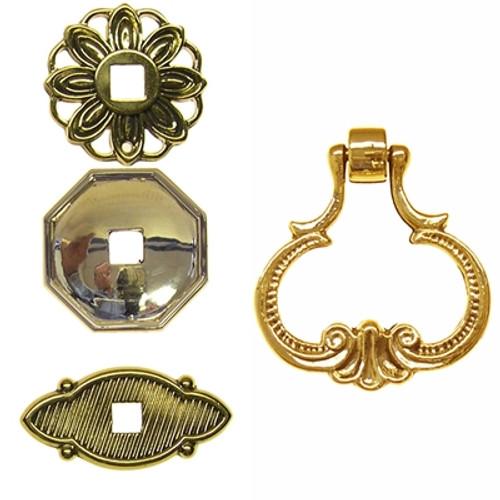Brass Loop Pendant Pull