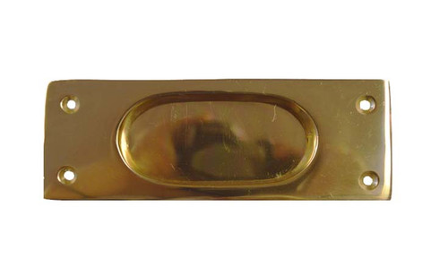 Brass Recessed Pocket Door Pull