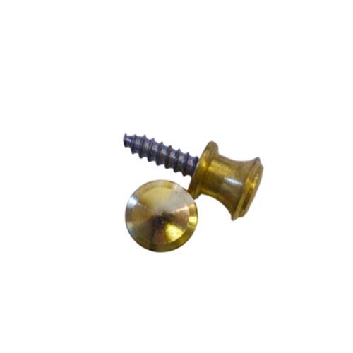 Small Solid Brass Knob