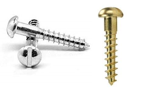 #4 Round Head Wood Screw