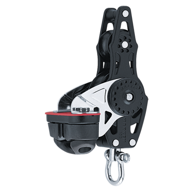 Harken 57mm Carbo Fiddle w/Cam Cleat & Becket