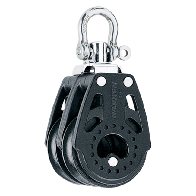 Harken 40mm Carbo Double Swivel Block