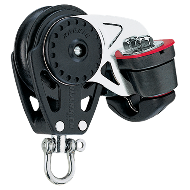 Harken 40mm Carbo Block w/Cam Cleat