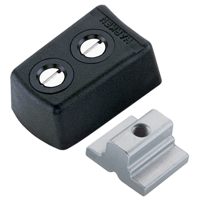 Harken System A CB Endstop Kit - Wide Flat