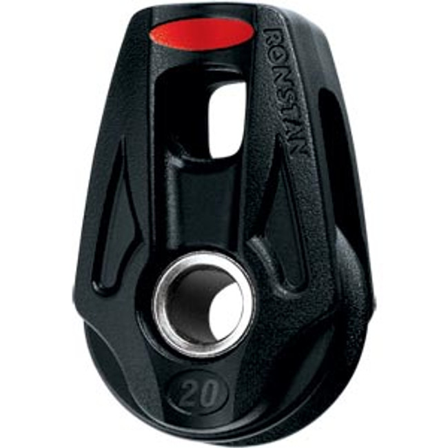 Ronstan Series 20 BB Orbit Block™, Single, Lashing, Becket