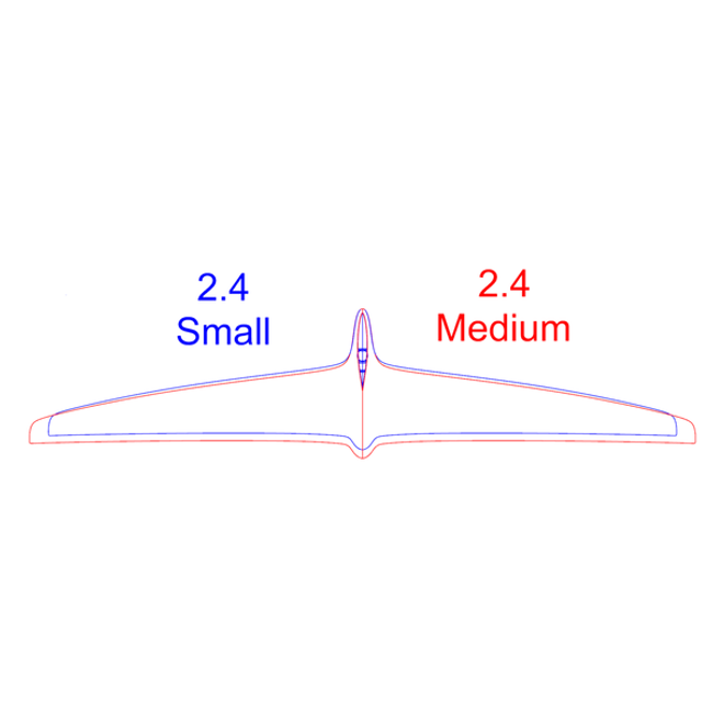 M2.4 Rear Hydrofoil Small