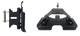 NOVASAIL Mast bracket PRO series FLAT shape