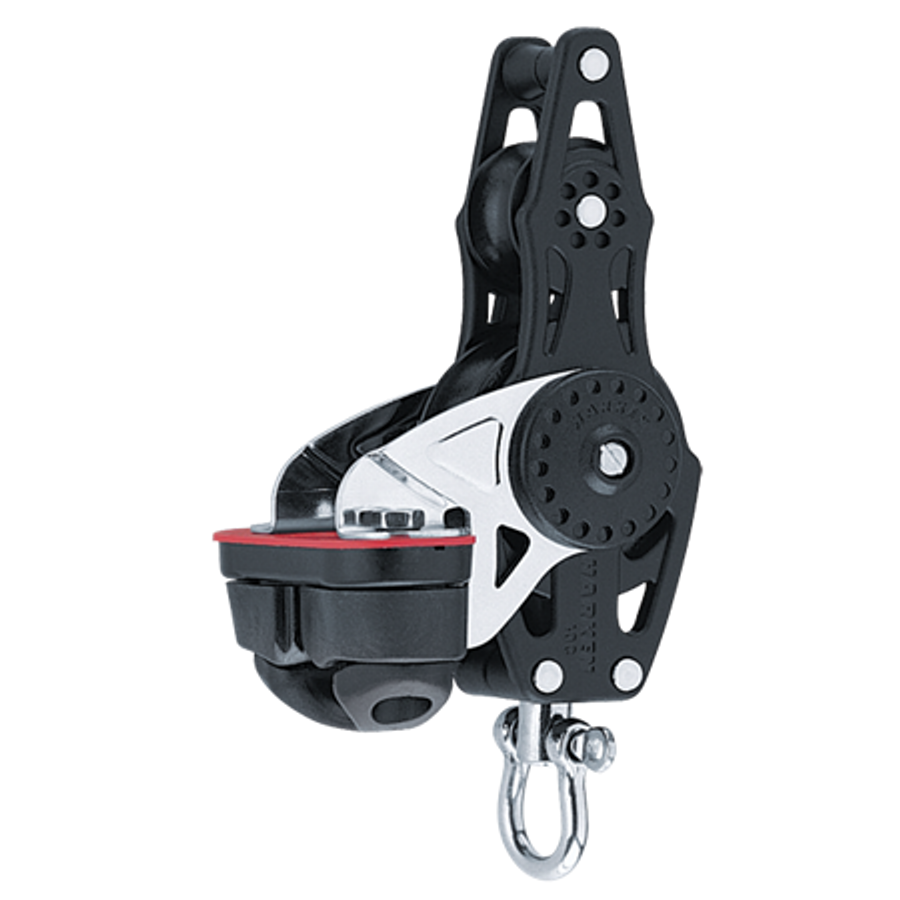 Harken 40mm Carbo Fiddle w/Cam Cleat & Becket