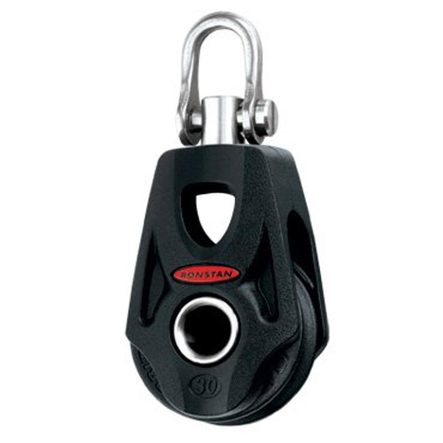 Ronstan Series 30 Orbit Block™, Single, Swivel Shackle Head, Becket