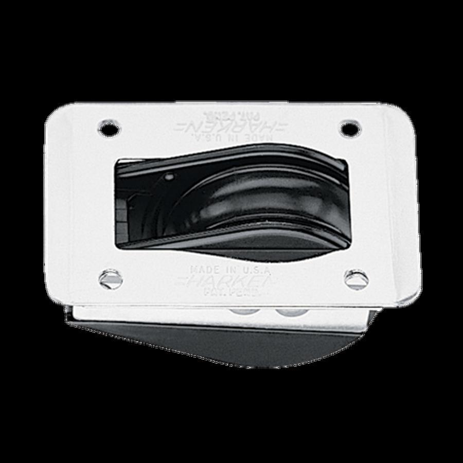 Harken 1.75 Dinghy Thru Deck Block w/Coverplate