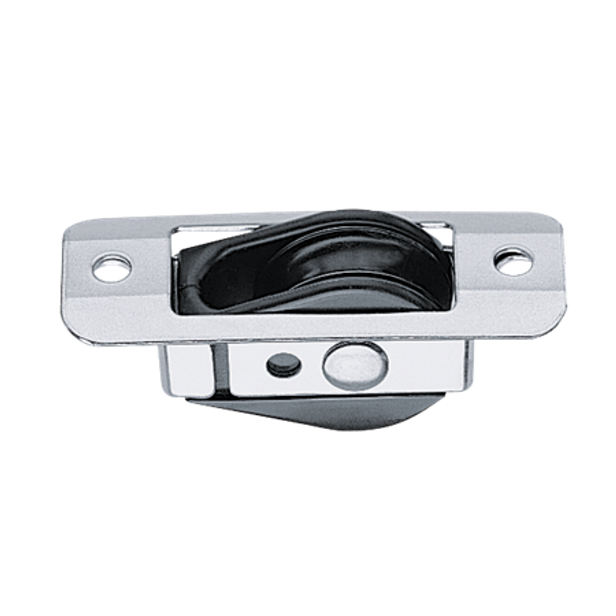 Harken Bullet Thru Deck for Wire w/Stainless Coverplate