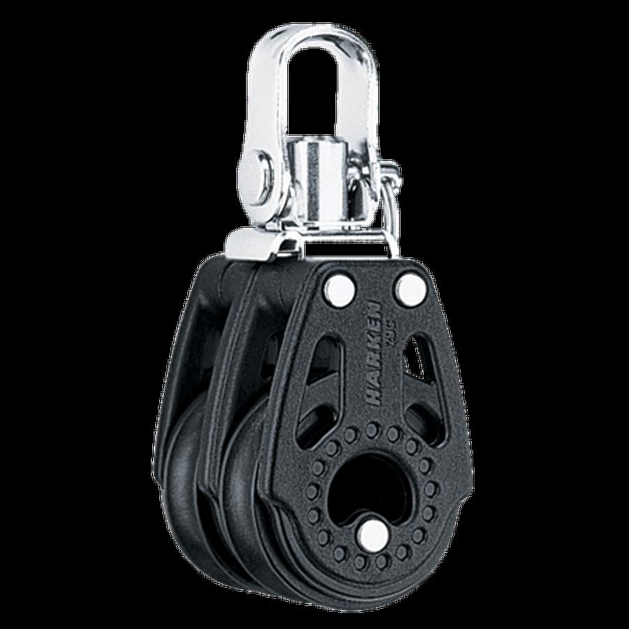 Harken 29mm Double Swivel Carbo Block
