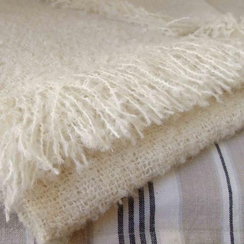 Boucle Blanket (Alpaca)