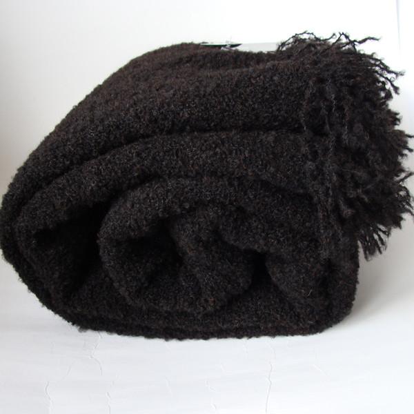 Dark Chocolate Throw Blanket