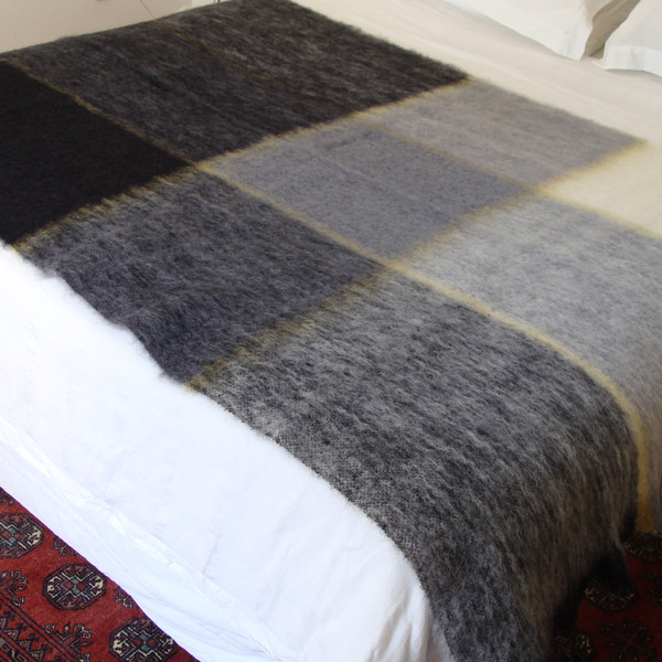 B&W throw blankets