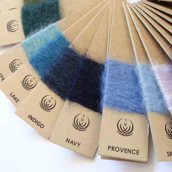 Blue Mohair Blankets
