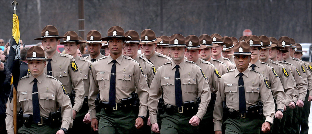 POLICE ACADEMY GUIDON