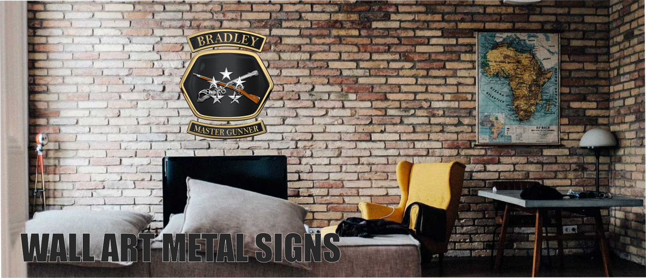 Wall Art Metal Signs