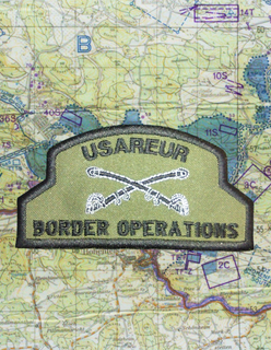 USAREUR BORDER OPERATIONS PATCH